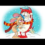 I HATE the cold Stimpy... by vaness96