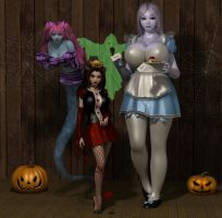 Halloween 2014 by shadowblade316