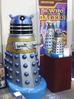 Dalek Display by lunamaxwell