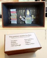 Tiny potions master in a box by button-bird