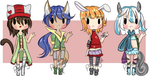 {Plumigal Collab} Kemonomimi Auction {CLOSED} by Veegal