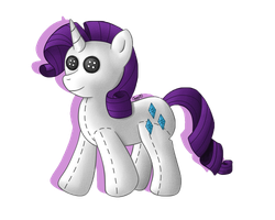 Rarity Plush by Oggynka