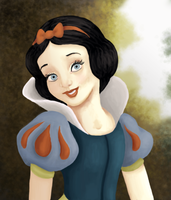 Snow white by Sosido