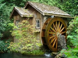 MG-Old Mill Waterwheel 6 by Talc-AlysStock
