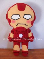 Ironman plushie by VioletLunchell