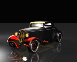 Classic hot rod by JustDippin