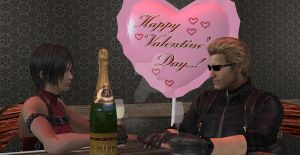 Happy Valentines Day by Wesker500