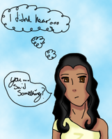 Expressions of Eshe - You said... by CartoonMad97