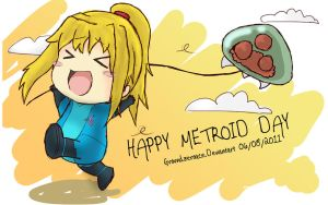 Happy Metroid Day by groundzeroace