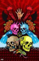 Skull Party by d-nasty