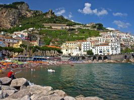 Amalfi Summer by AgiVega