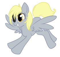 General Derpy by lulubellct