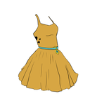 Scooby Doo Dress by Puccoon