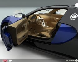 Bugatti Veyron Side door by AfroAfroguy