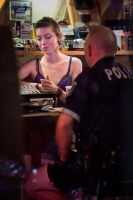 The Lady and the Cop by rotorelief