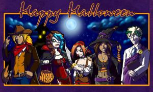 FF: Very Late Happy Halloween by Tomecko