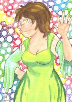 ACEO Eleanor 1 by Fevley