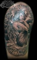Angel design by state-of-art-tattoo