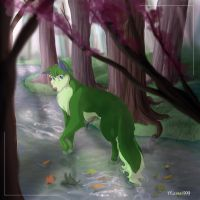A.G. in a forest... by maetel-999