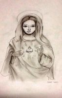 Our Virgin Mother Mary by Det2x