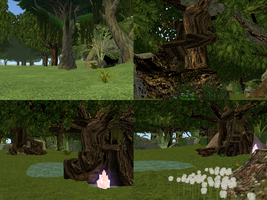 Cryptic Refrain Teaser- Weleful Woods by ZombieKitteh