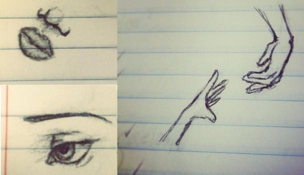 Minuscule sketches by FullMetalSoul13