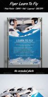 Flyer Learn To Fly by artgh