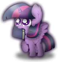 Twilight Sparkle Chibi by xThe-Bubbly-One