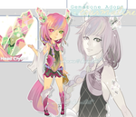 (CLOSED) Gemstone Adopt: Tourmaline by sakonma-adopts