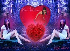 Love blossoms by starlight2infinity