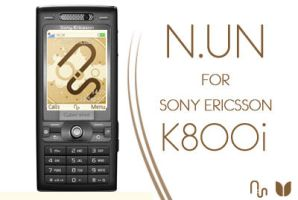 N.UN for SE K800i by UnitedCustomizers
