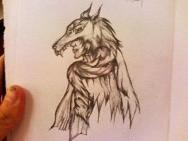 Wolf Man by lM12l