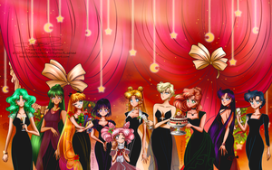 Christmas party by selinmarsou