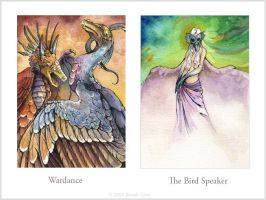 Wardance and Bird Speaker by windfalcon