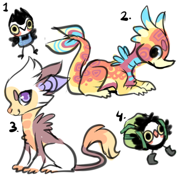 Designs for auction ENDED by Smushey