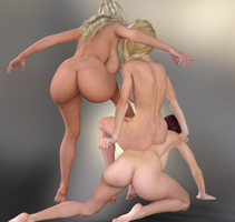 DAZ3D With ass is do you prefer  ? by adn700