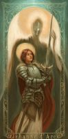 Joan Of Arc- Juana de Arco by Giacobino