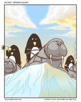 003 - Penguin Cavalry by Poorboy-Comics