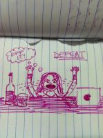 DEFEAT! by monstermelissa