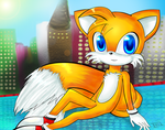 Tails in Power Plant by Ini-Inayah