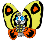 Pokeiju - MOTHRA by Venota