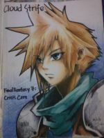 Cloud Strife by EtsuyoMai