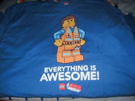 The Lego Movie T-Shirt by LouisEugenioJR