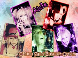 Choko Sand Biscuit Cream by moodnight