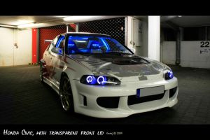 R honda civic HDR 003 by freakjs