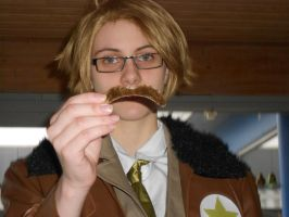 Moustache! by nordanverdrCosplay
