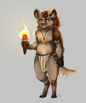 gnoll by goodmode