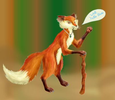 The Fox by AllieKat1996