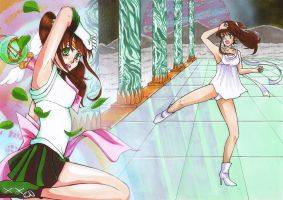 Sailor Jupiter:Another Time. by masaothedog