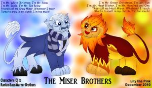 Lionized Miser Brothers by Lily-the-pink